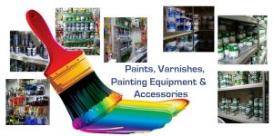 Paints, Varnishes, Painting Equipment & Accessories