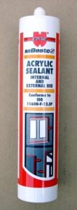 Acrylic Sealants in Various colours