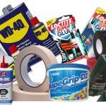 glues oils lubricants